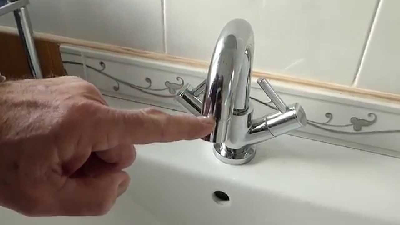 How to clean the filter in your taps spout. - YouTube
