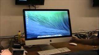 iMac 27 with 1TB Hard Drive and 8GB Ram