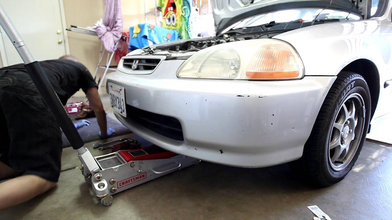Honda Civic Hx Manual Transmission Drain And
