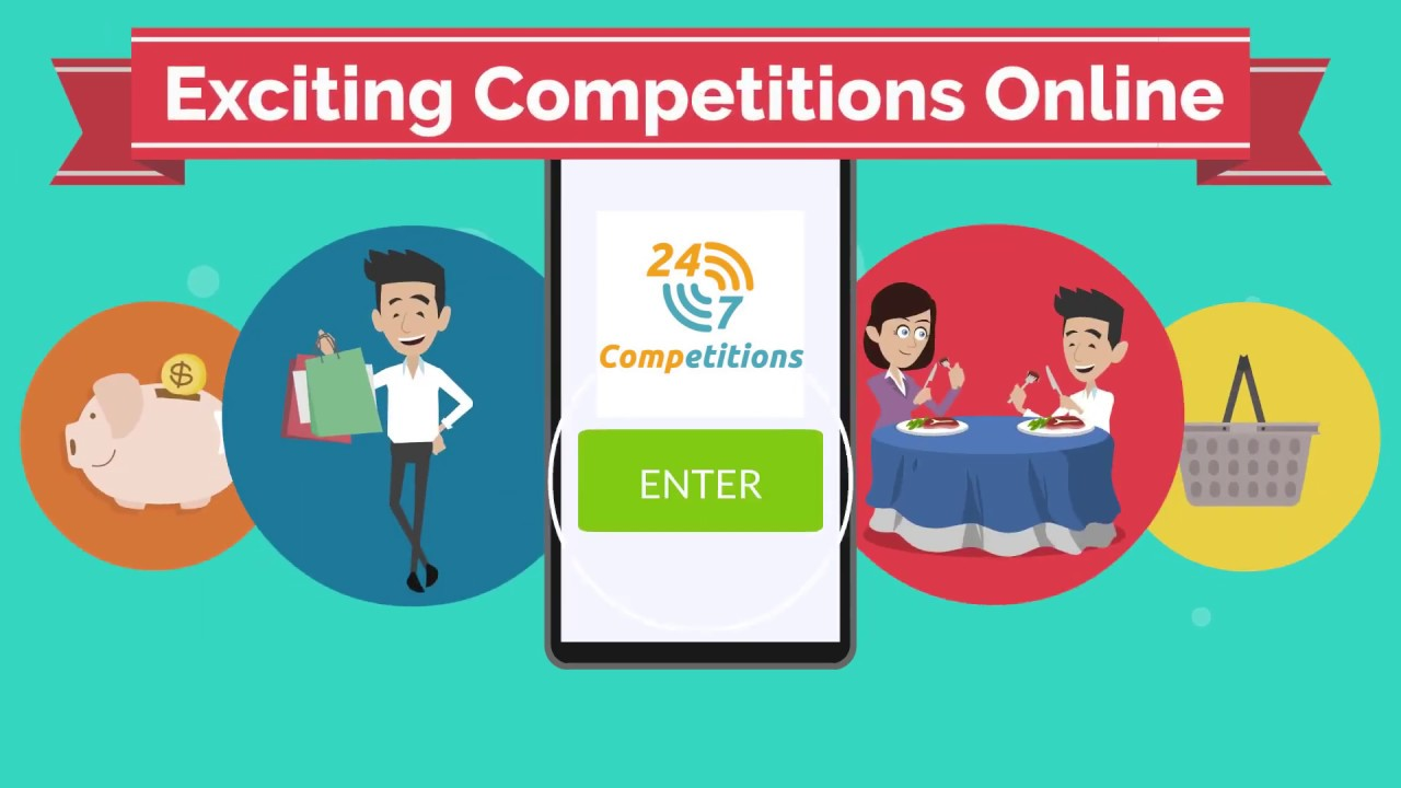 247 competitions | Great competitions for the prizes YOU