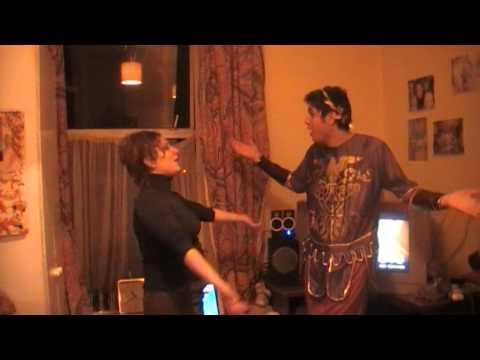 The dancing Roman Emperor