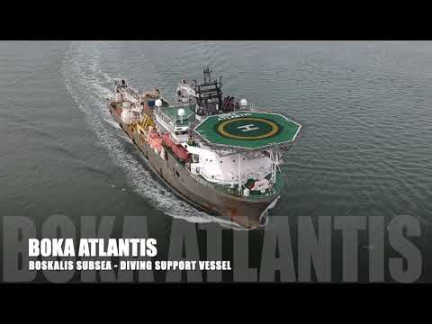 BOKA Atlantis - DP2 Diving Support Vessel - Boskalis Subsea
