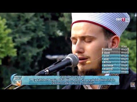 Osman Bostancı TRT İftar Sevinci Programı /Ramazan Sevinci (Kuran Tilaveti)