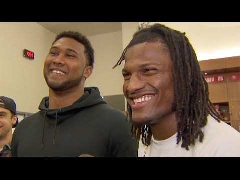 DeForest Buckner and Adrian Colbert Describe Winning Team Awards