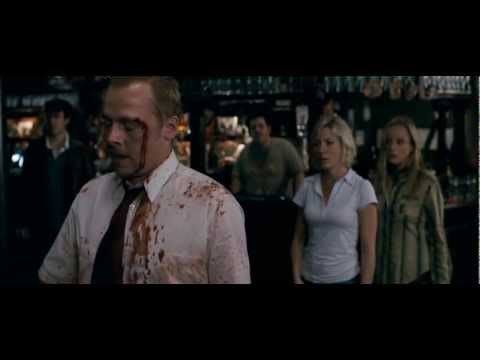 Shaun of the Dead - Jukebox fight scene