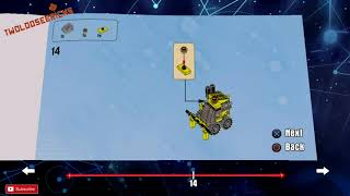 LEGO Dimensions Emmetts Excavator Build Instructions with voice commentary