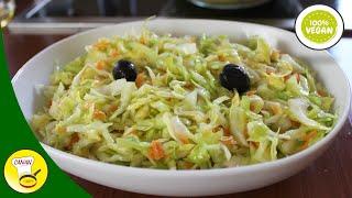 MEIN LECKERER KRAUTSALAT - türkisches Krautsalat-Rezept -  Canans Rezepte