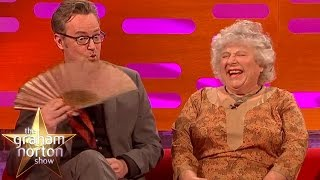 Miriam Margolyes Shocks With Story About Laurence Olivier - The Graham Norton Show thumbnail