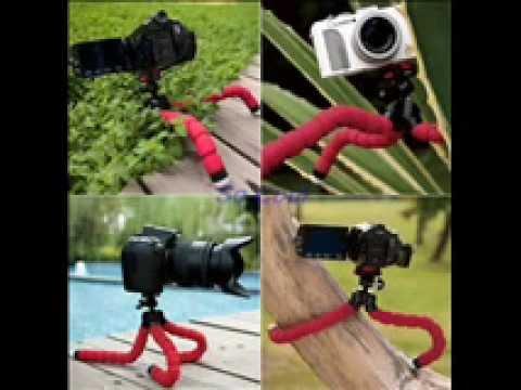 Tripod bạch tuột cho máy ảnh, điện thoại