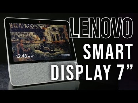 "Lenovo Smart Display 7"" With Google Assistant 