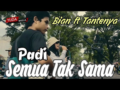 Semua Tak Sama - Padi (Cover Pengamen Jalanan Malang feat Tantenya)