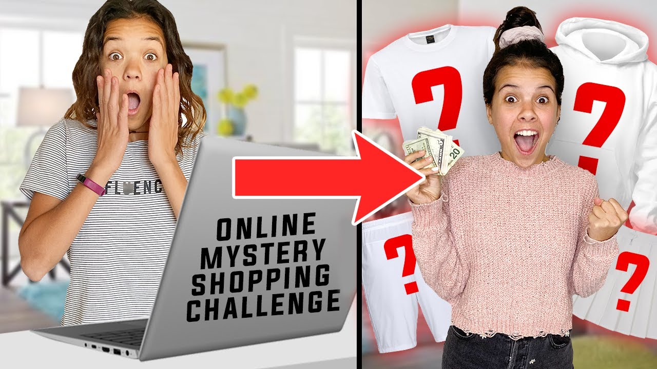 MYSTERY Online SHOPPING Challenge - YouTube