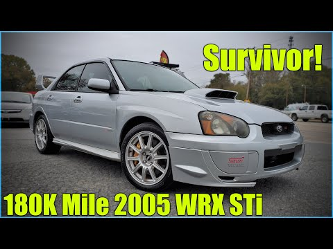180k Mile, 2005 WRX STi Survivor! Full Inspection.