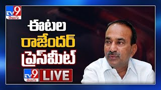 BJP Etela Rajender Press Meet LIVE - TV9