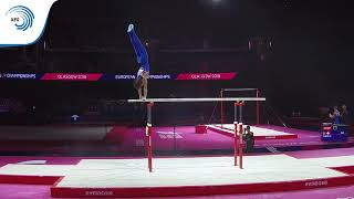 Jake JARMAN (GBR) - 2018 Artistic Gymnastics Europeans, junior parallel bars final
