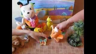 Мультфильм для детей Мультфильм про животных Учим животных Учимся считать до 6 ти
