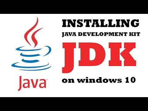 java development kit windows 10