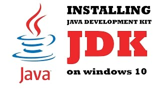 Gambar cover How to Download and Install Java JDK on Windows 10 and set JAVA HOME path
