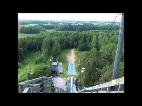 Show Finland to Finnish - Helsinki, Herttoniemi, Ski jump