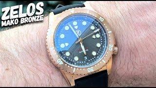 ZELOS Mako Bronze Dive Watch Review - Well Worth the Money!