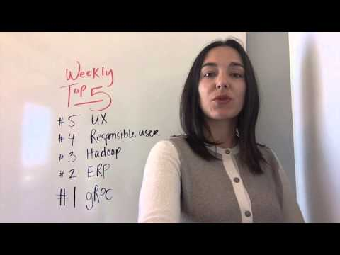 Top 5: Google shares gRPC, better UX in open source, and more