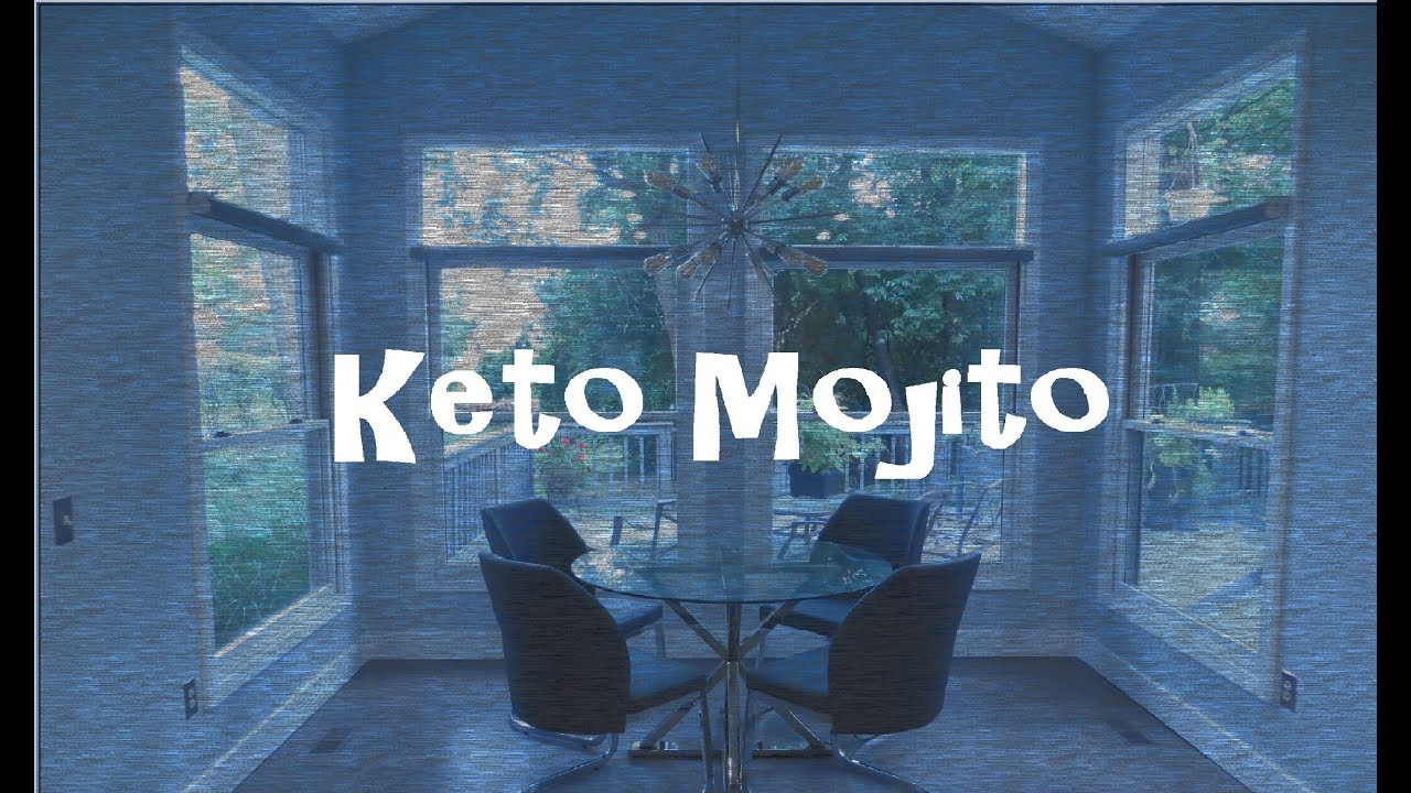 Keto Low Carb Mojito - YouTube