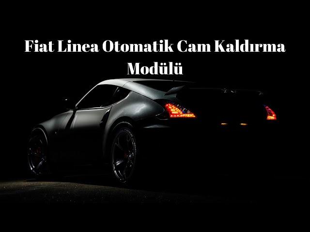 Fiat Linea Cam Modülü (Kumandadan Cam Kaldırma & İndirme)