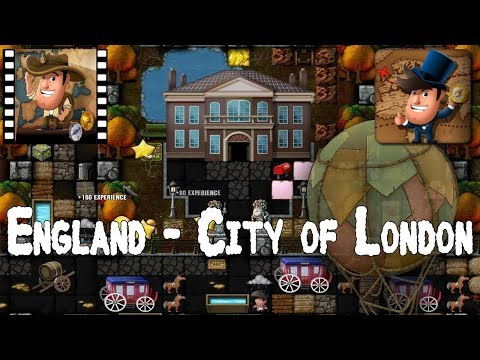[~Around the World~] #8 England - City of London - Diggy's Adventure