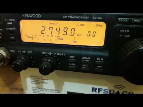VCO Sydney Radio (Port Caledonia, Nova Scotia, Canada) - 2749 kHz (USB)