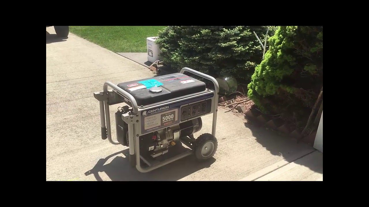 low cost whole house emergency generator back-feed - youtube