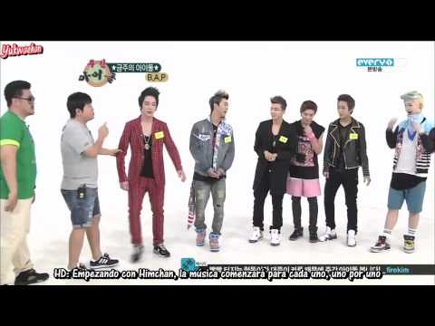 [120822] [Sub Esp] [HD] Weekly Idol con B.A.P (1/3)