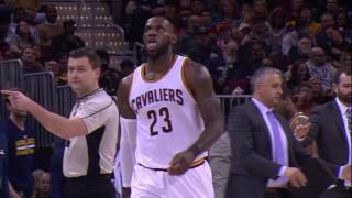 LeBron James Scores 33 Kevin Love Makes His Return in Cleveland! | March 16. 2017