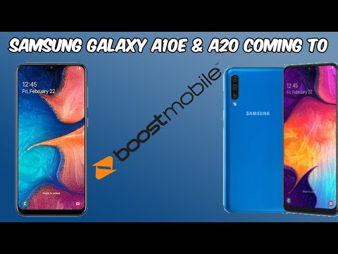 Samsung A10e and A20 Coming to Boost Mobile// Specs and Info