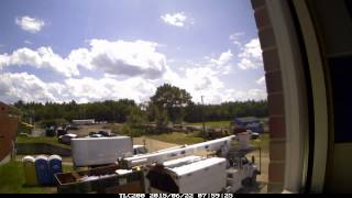 Salem High School Time lapse Compilation(Prep work, equipment and furniture removal, tree felling and pavement reclamation at Salem High School June , 2015., 2015-06-23T18:27:18.000Z)