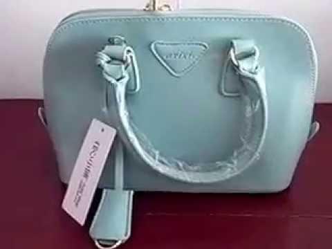 กระเป๋าแฟชั่น Axixi รุ่น 10296 ใบสีเขียวมินต์