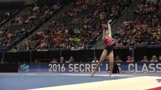 Emily Lee - Floor Exercise - 2016 Secret U.S. Classic - Junior