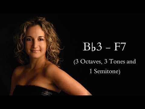 [HD] Carla Maffioletti Vocal Range (B♭3 - F7)