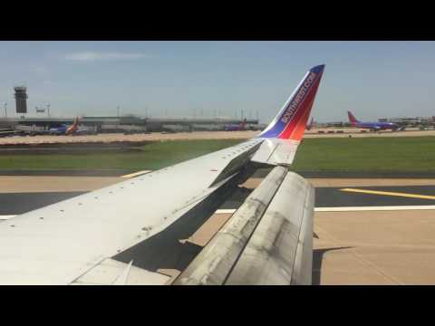 Flight Vid: Southwest Airlines Tulsa to Dallas HD