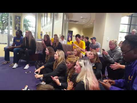 LSU Beach Volleyball Reacts to NCAA Tournament Selection