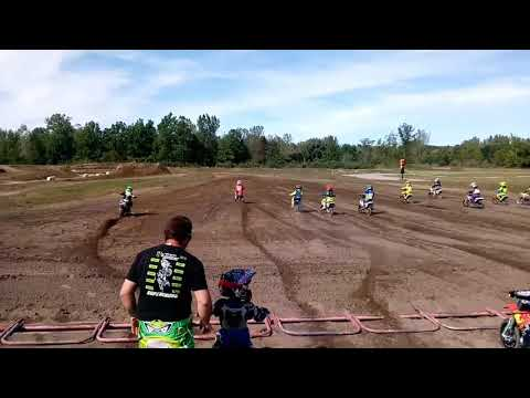 Jordan nails the start in 50sr class at Twisted MX 10/1/17