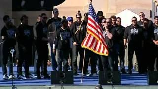 Jonny Gomes gives amazing victory speech