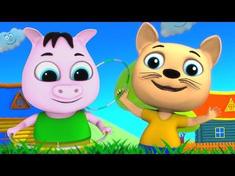 Meow Meow Billi Karti   म्याऊँ म्याऊँ   Hindi Balgeet Songs   Nursery Rhymes   Hindi Children Song