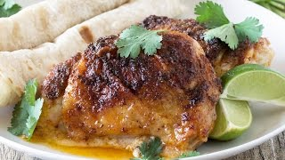 Easy Baked Mexican-Spiced Chicken Thighs
