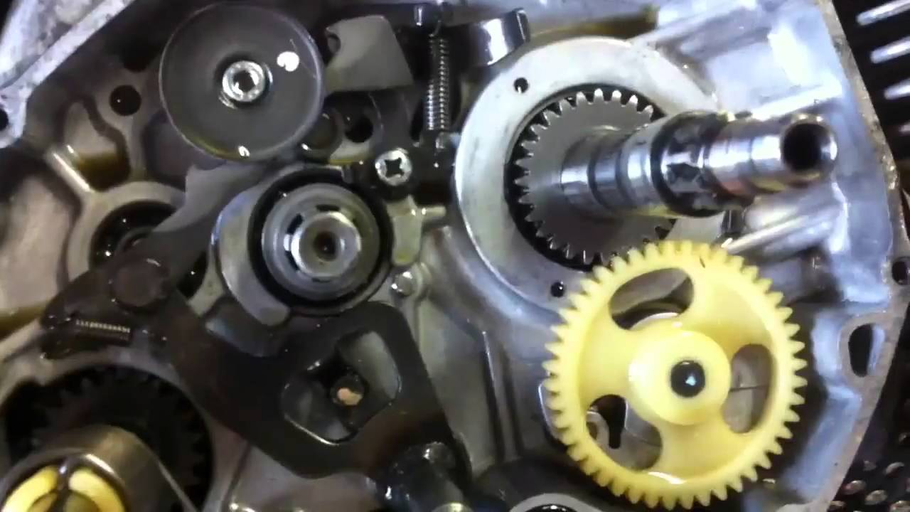 Clutch prop klx110  YouTube