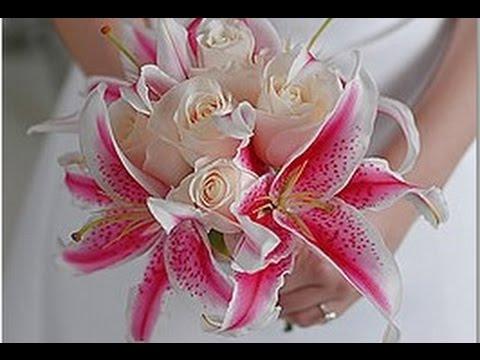 white-stargazer-lily-wedding-bouquet