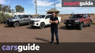Toyota HiLux 2018 review: Rugged, Rugged X, Rogue