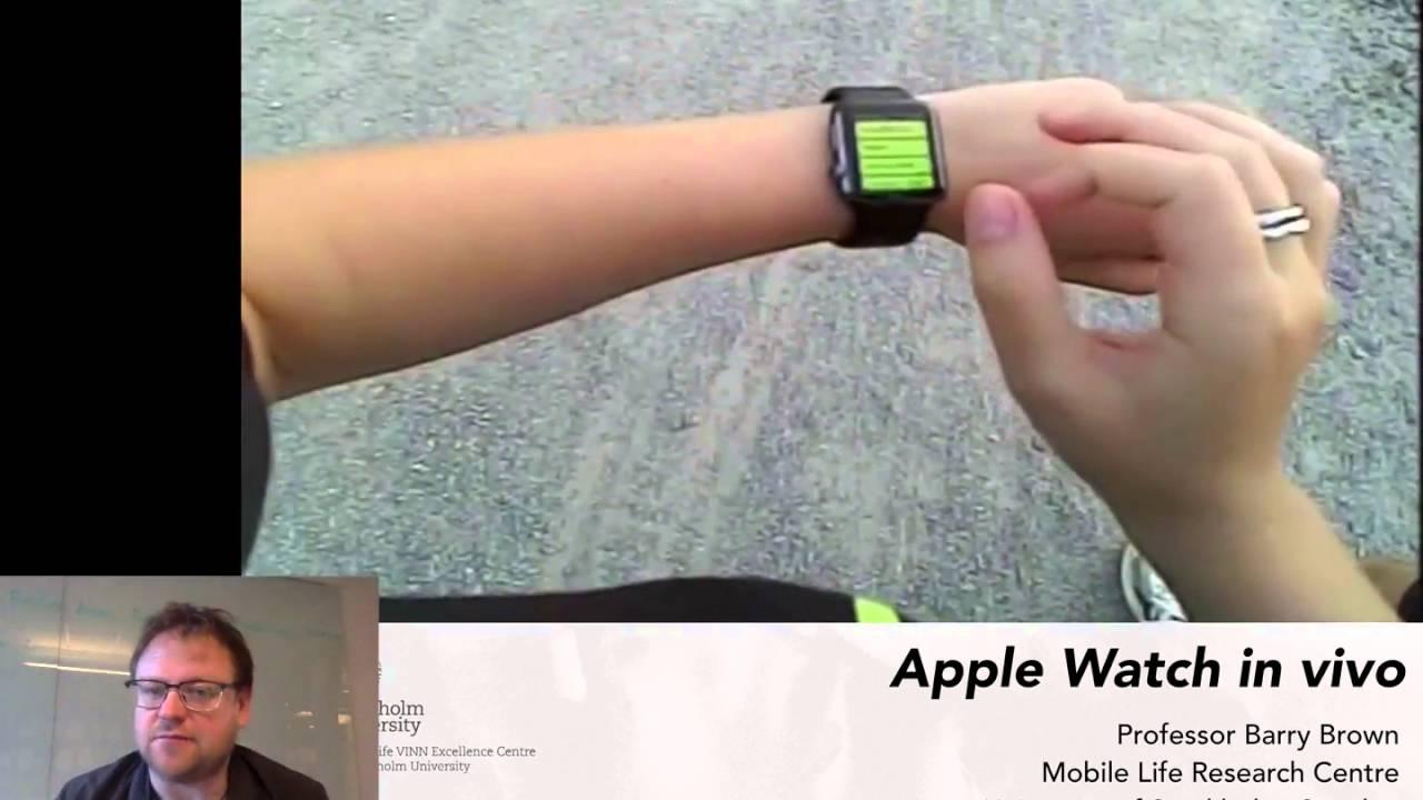 Smartwatch in vivo