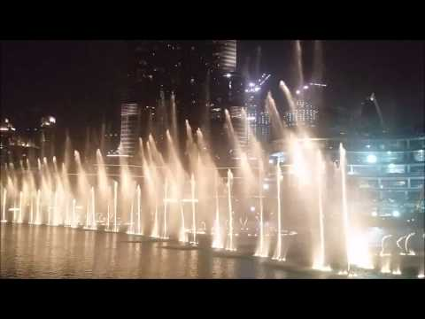 The Dubai Fountain 2017: Twlht Ana Lsotak by Eida Al Menhali