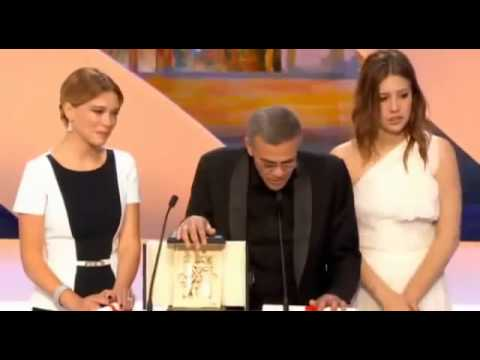 Cannes Film Festival - closing ceremony - Palme d'Or 26 May 2013 г