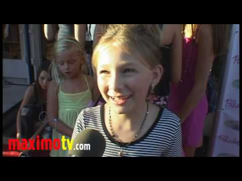 "Tatum McCann Interview at ""Children Of The Night"" Charity Event August 31, 2010"